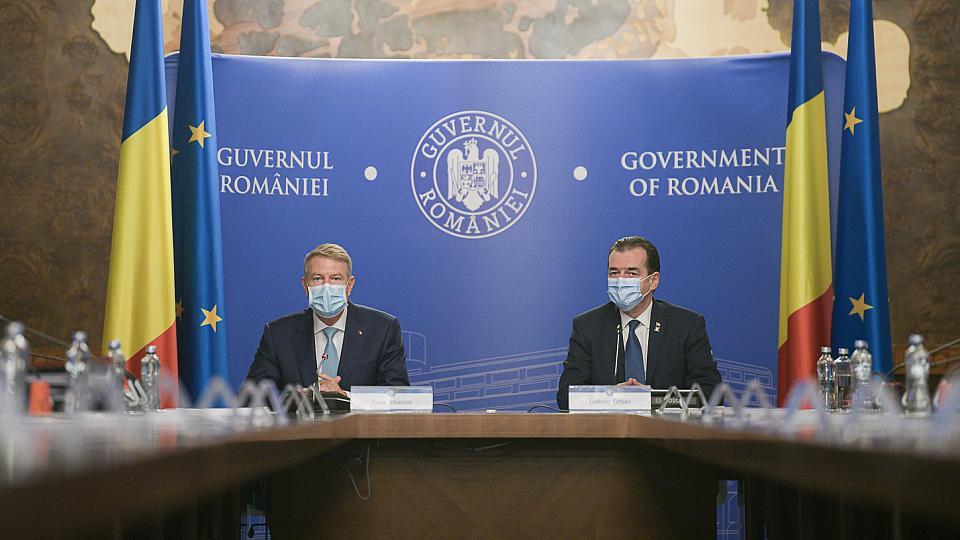 Presedintele Romaniei anunta noi restrictii, dar spune ca economia si alegerile trebuie sa mearga mai departe