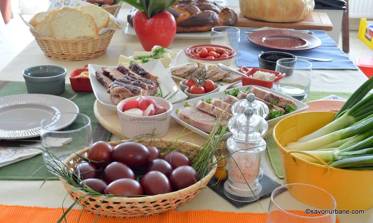 Ce preparate se regasesc pe masa de Paste in Moldova